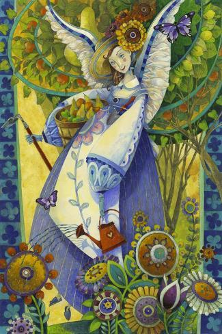 Angelic Harvesting Giclée-Druck