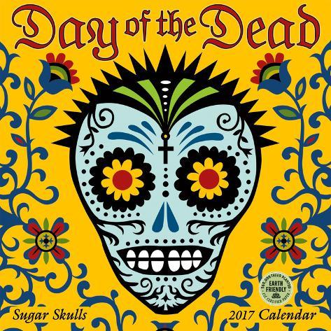 Day of the Dead - 2017 Calendar Kalenders