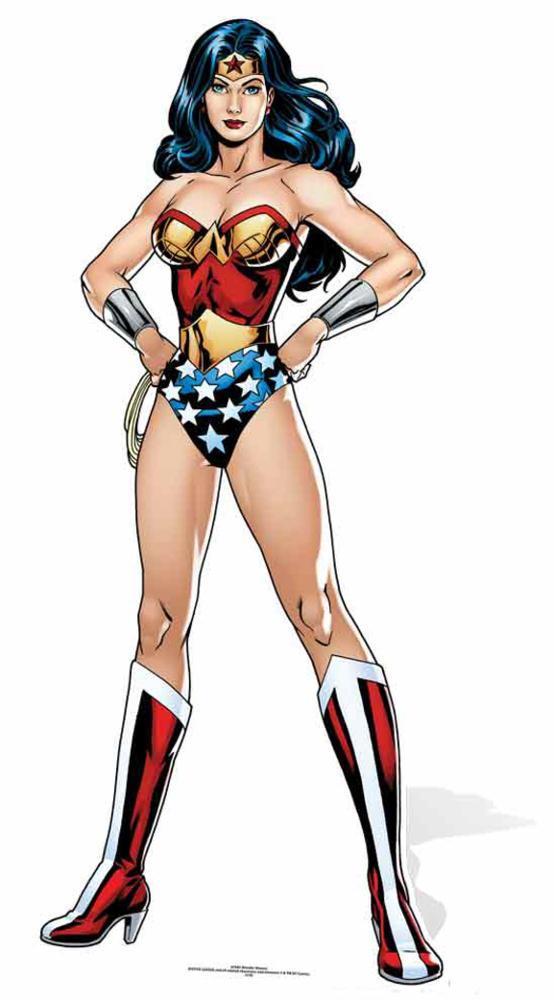 DC Comics Wonder Woman Kartonnen poppen bij AllPosters.nl