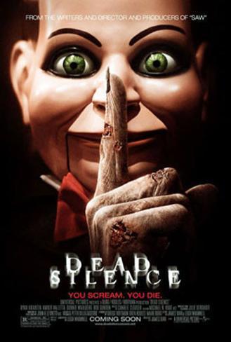 Dead Silence Doppelseitiges Poster