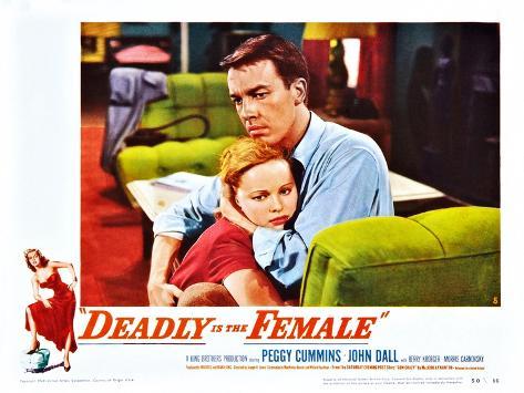 Deadly Is the Female Kunstdruck