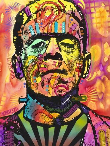 Frankenstein Giclée-Druck