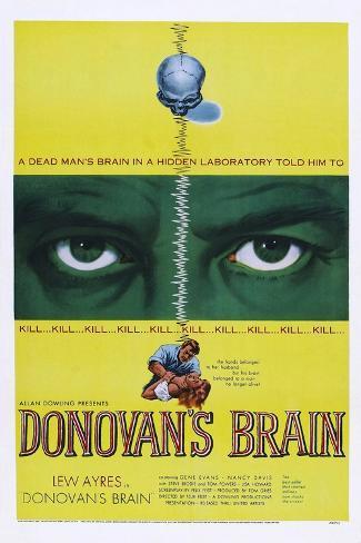 Der Zauberlehrling (Donovans Gehirn) Kunstdruck