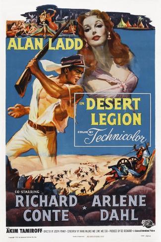 Desert Legion Kunstdruck