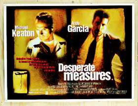 Desperate Measures Originalposter