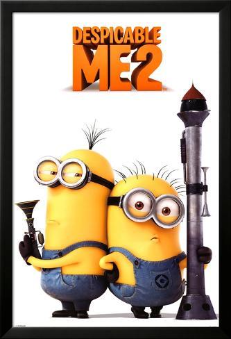 Despicable Me 2 (Armed Minions) Laminiertes gerahmtes Poster