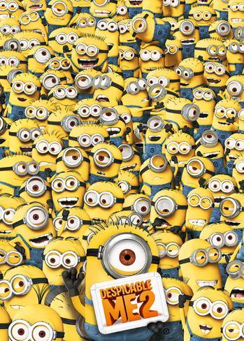 Despicable Me 2 - Many Minions Riesenposter