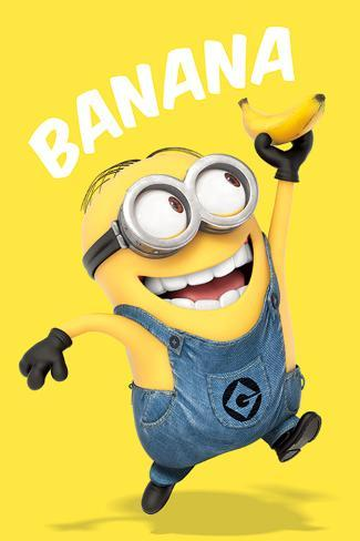 despicable me banana posters bij. Black Bedroom Furniture Sets. Home Design Ideas