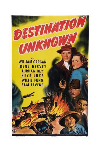 Destination Unknown Gicléedruk