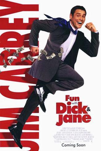 Dick und Jane Doppelseitiges Poster