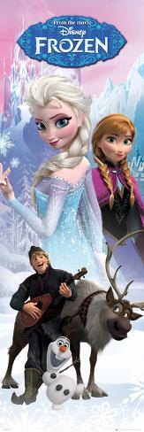 Die Eiskönigin – Völlig unverfroren - Anna und Elsa Türposter