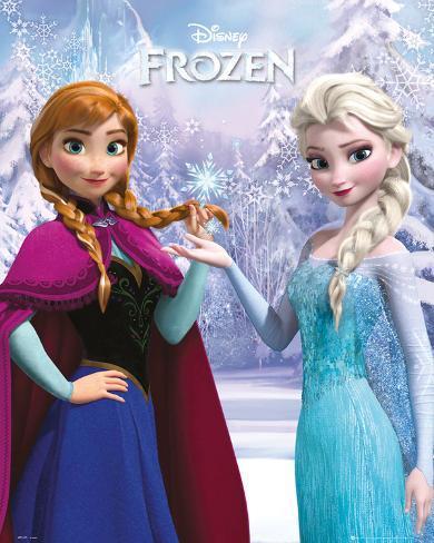 Die Eiskönigin – Völlig unverfroren - Duo Mini-Poster