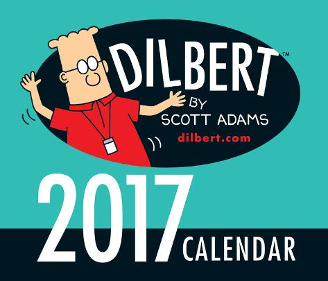 Dilbert - 2017 Boxed Calendar Kalenders