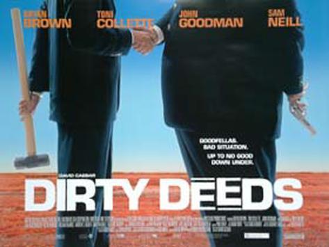 Dirty Deed Originalposter