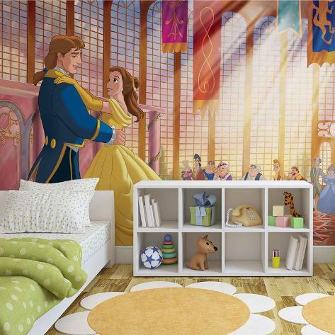 Disney Beauty and the Beast - Royal Dance - Vlies Non-Woven Mural Vlies muurposter