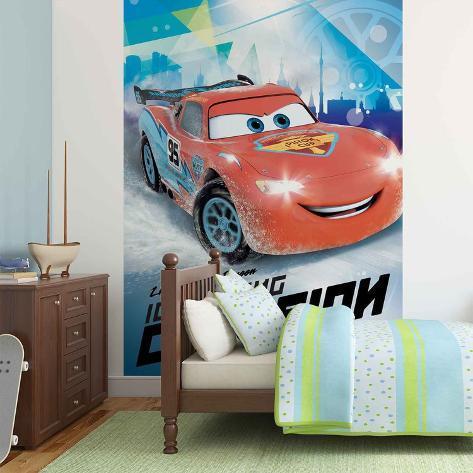 Disney Cars - Lightning McQueen Racing Champion Wandgemälde