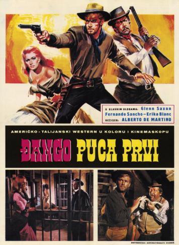 Django– Nur der Colt war sein Freund Neuheit