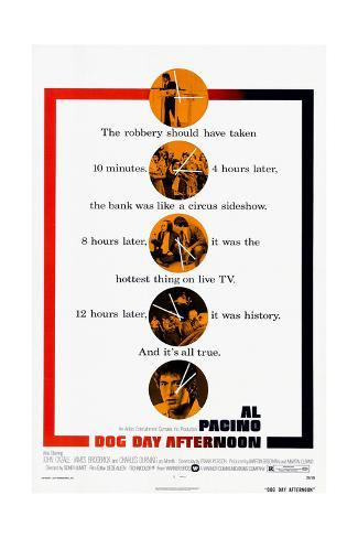 Dog Day Afternoon, 1975 Giclée-Druck