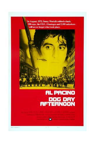 Dog Day Afternoon, Al Pacino, 1975 Kunstdruck
