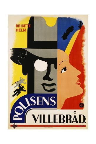 Polisens Villebrad Movie Poster Giclée-Druck