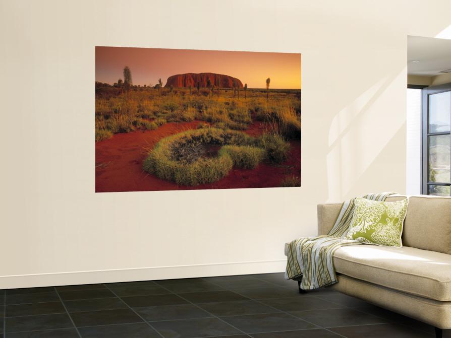 Ayers Rock, Northern Territory, Australia Fototapete von Doug ...