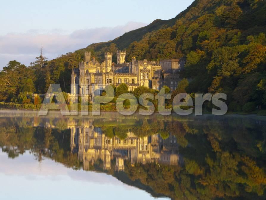 Kylemore Abbey, Connemara National Park, Connemara, Co, Galway ...