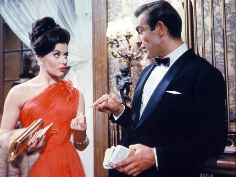 Dr. No, Eunice Gayson, Sean Connery, 1962 Foto