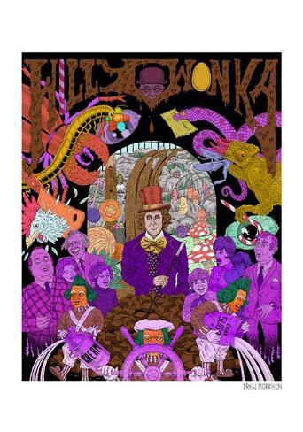 Wonka Kunstdruck