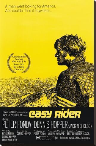 Easy Rider Bedruckte aufgespannte Leinwand