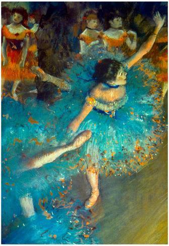 Edgar Degas Dancer Art Print Poster Poster