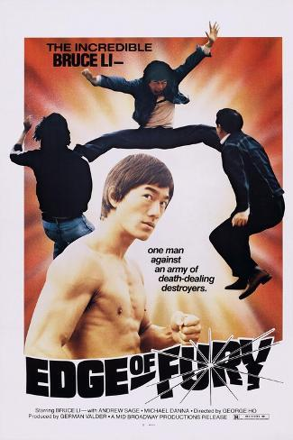 Edge of Fury Kunstdruk