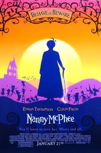 Eine zauberhafte Nanny Doppelseitiges Poster