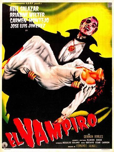 El Vampiro Kunstdruck
