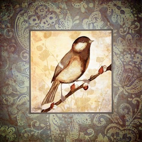 Tiny Bird I Giclée-Premiumdruck