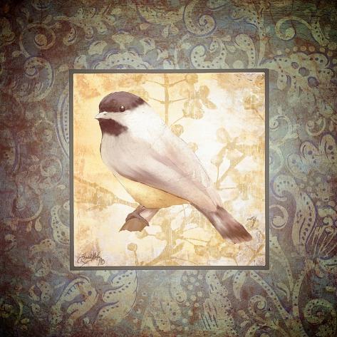 Tiny Bird II Giclée-Premiumdruck