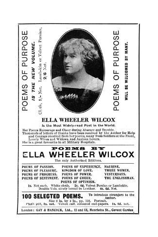 Ella Wheeler Wilcox Giclée-Druck