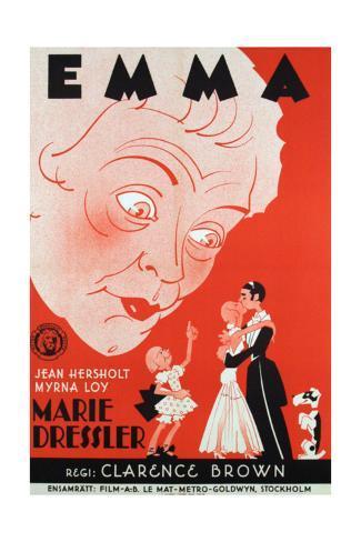 Emma, Foreign Poster Art, 1932 Giclée-Druck