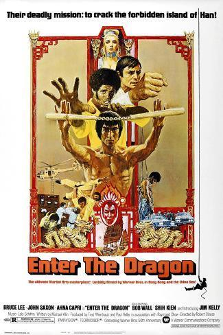 Enter the Dragon, 1973 Gicléedruk