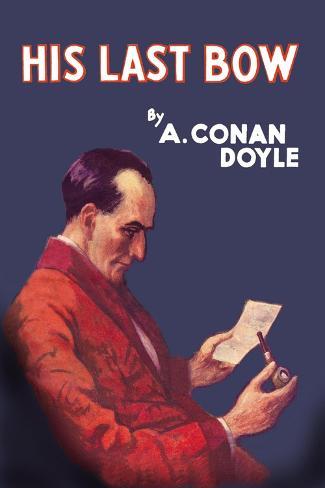 Sherlock Holmes- His Last Bow Wandtattoo