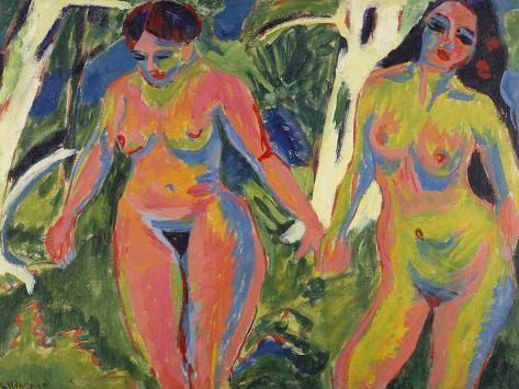 Mehrere nackte Frauen Bilder