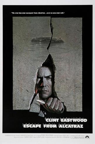 Escape from Alcatraz, 1979 Gicléedruk