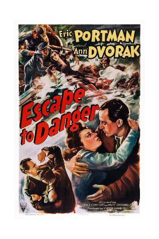 Escape to Danger Giclée-Druck