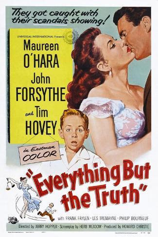 Everything But the Truth Kunstdruck