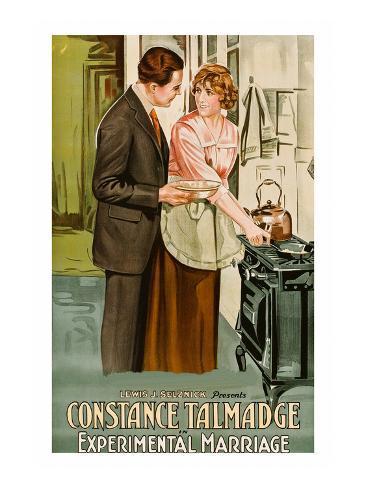 Experimental Marriage Kunstdruck