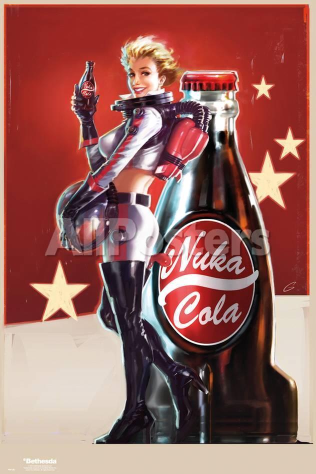 Fallout 4- Nuka Cola Pin Up Kunstdrucke bei AllPosters.de