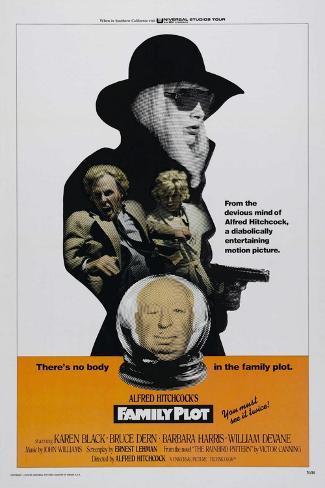 Family Plot, 1976 Giclée-Druck