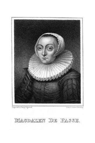 Magdalen de Passe Giclée-Druck