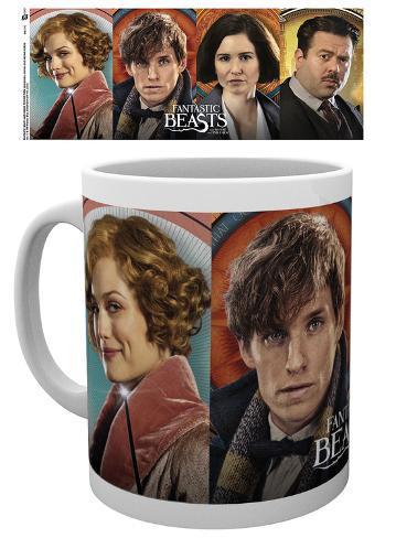 Fantastic Beasts - Characters Mug Becher