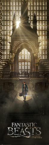 Fantastic Beasts- Grand Arrival Türposter
