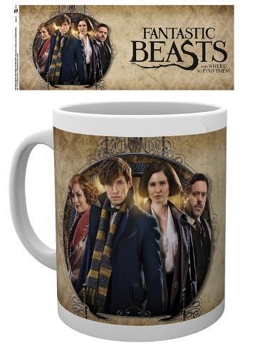 Fantastic Beasts - Group Frame Mug Becher